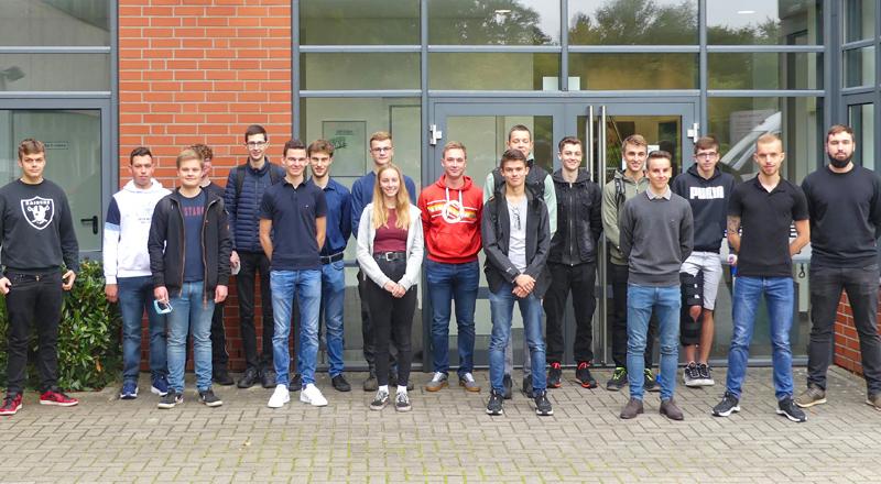 Röders GmbH Ausbildungsjahrgang 2021
