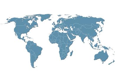 Röders Formenbau Weltkarte