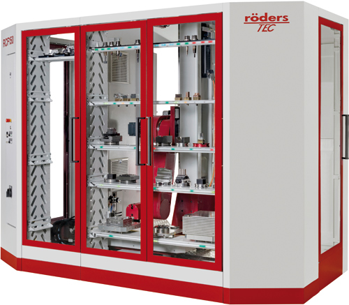 Röders GmbH RCF 150 Automation