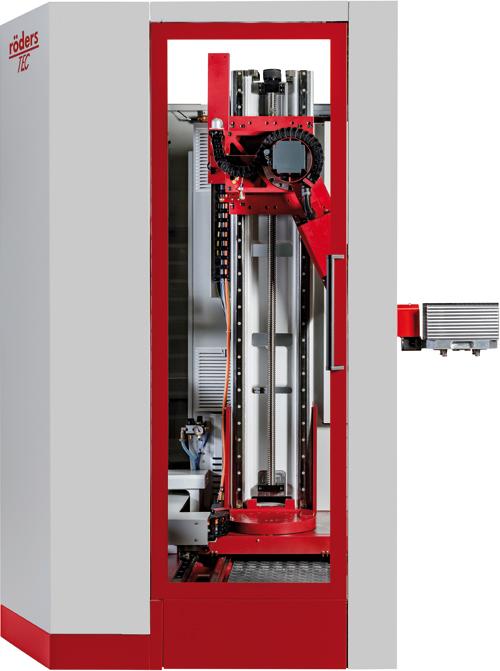 Röders GmbH RCF 150 Automation Aussenansicht