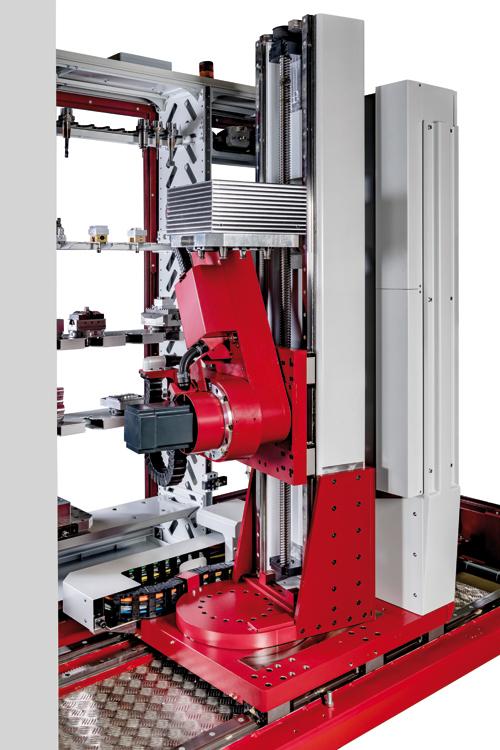 Röders GmbH RCF 150 Automation - kompakte Bauweise