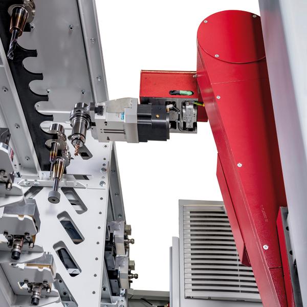 Röders GmbH RCF 150 Automation Greiferwechsel