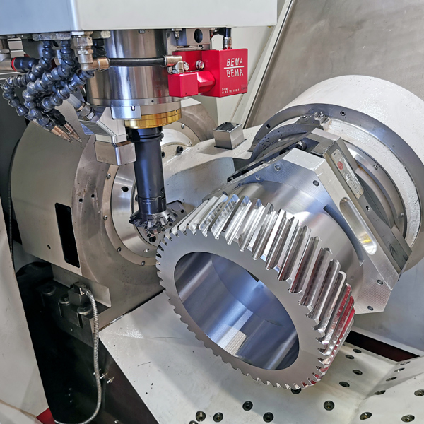 Roeders Flexible Zahnradfertigung - Flexible Gearwheel Production