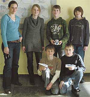 Gruppenbild Erfinderclub