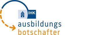 Logo IHK Ausbildungsbotschafter
